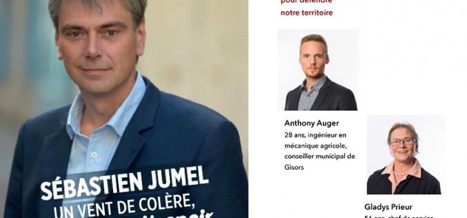 Gisors : campagne active des candidats